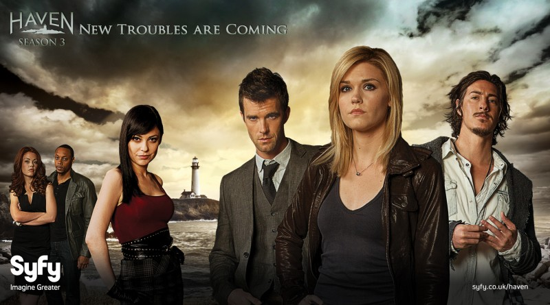 Haven TV series starring Emily Rose, Lucas Bryant, Eric Balfour, Richard Donat, John Dunsworth, Adam Copeland, Glenn Lefchak, Nicholas Campbell, Kate Kelton, Emma Lahana, Bree Williamson, Christopher Shore and Colin Ferguson - dvdbash.com