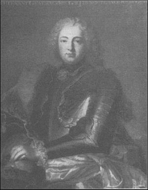 French Admiral Jean-Baptiste Louis Frédéric de La Rochefoucauld de Roye, Duc d'Anville