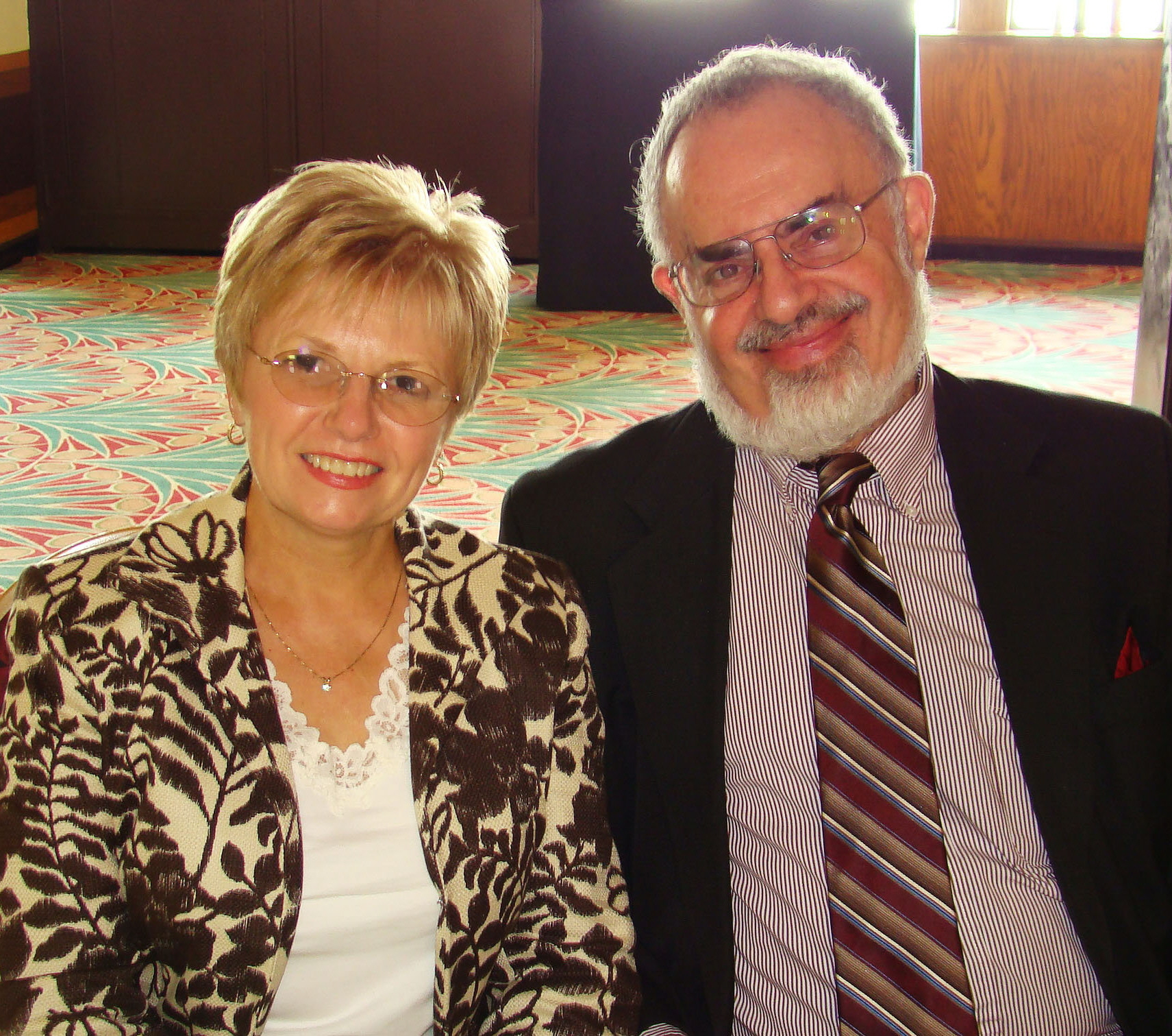Kathleen Marden and Stanton Friedman