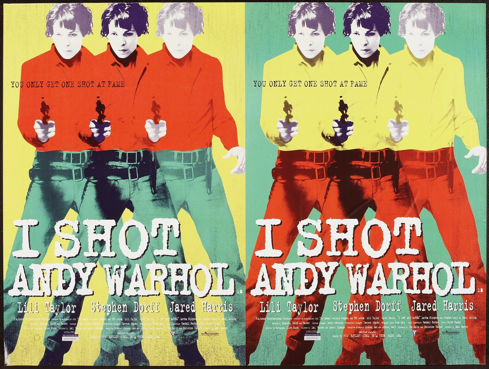 I SHOT ANDY WARHOL - UK Poster 1